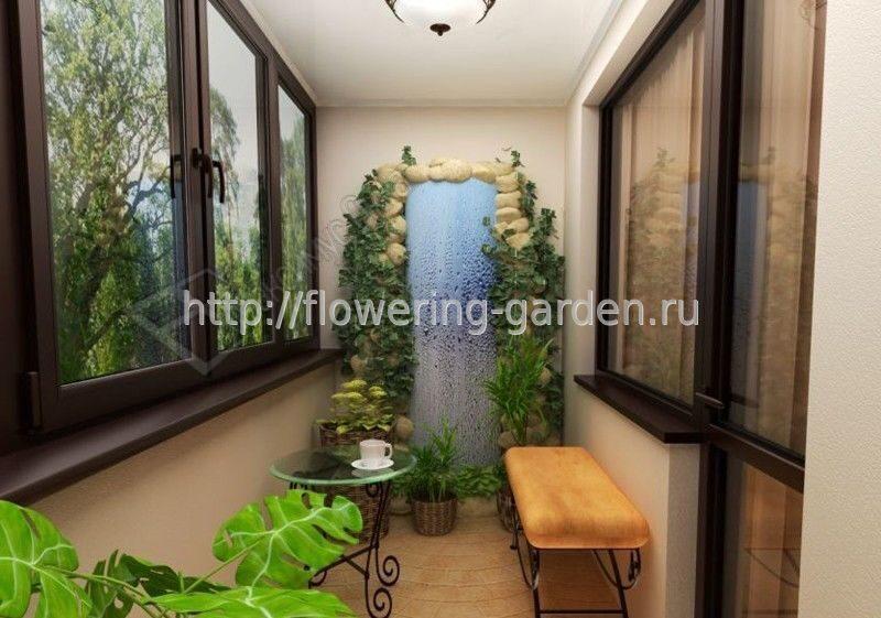 Зимний сад на балконе. услуги специалистов.